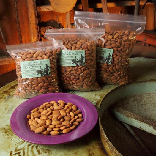 Organic Almonds 1/2 lb-0