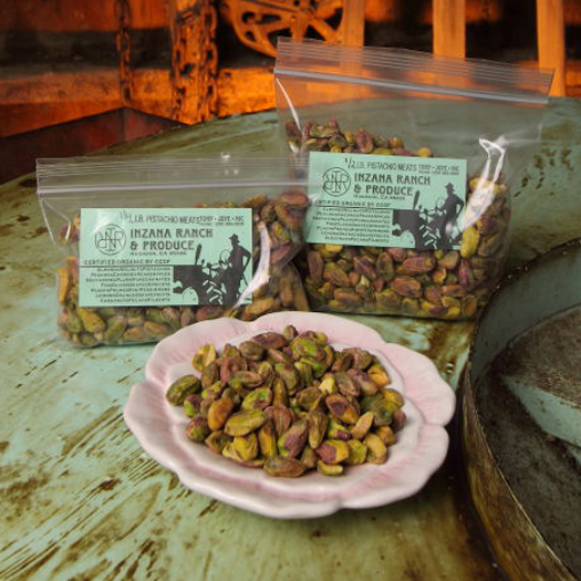 Organic Pistachio Meats (Kernels) Raw 1/4 lb-0