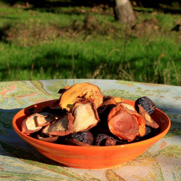 Dried Organic Mixed Fruit 1/2 lb-104