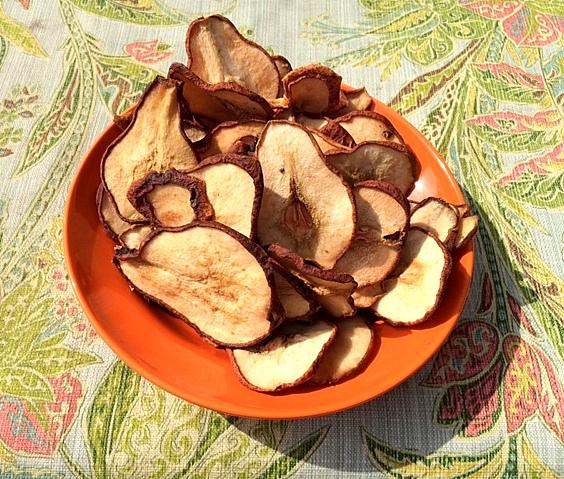 Dried Organic Pears 1/2 lb-162