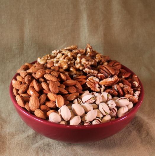 Bowl Organic Nuts 2 lbs-0